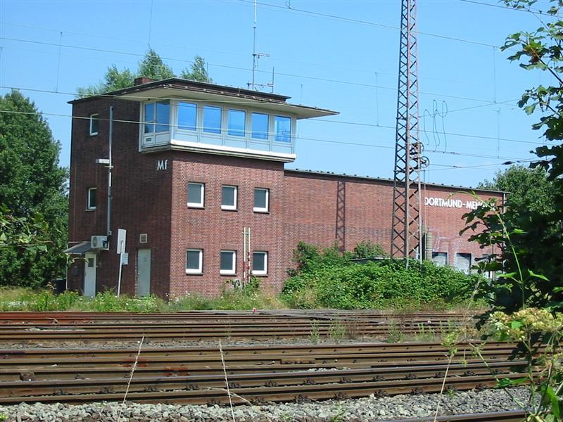 Stellwerksbildarchiv Dortmund Mengede Mf